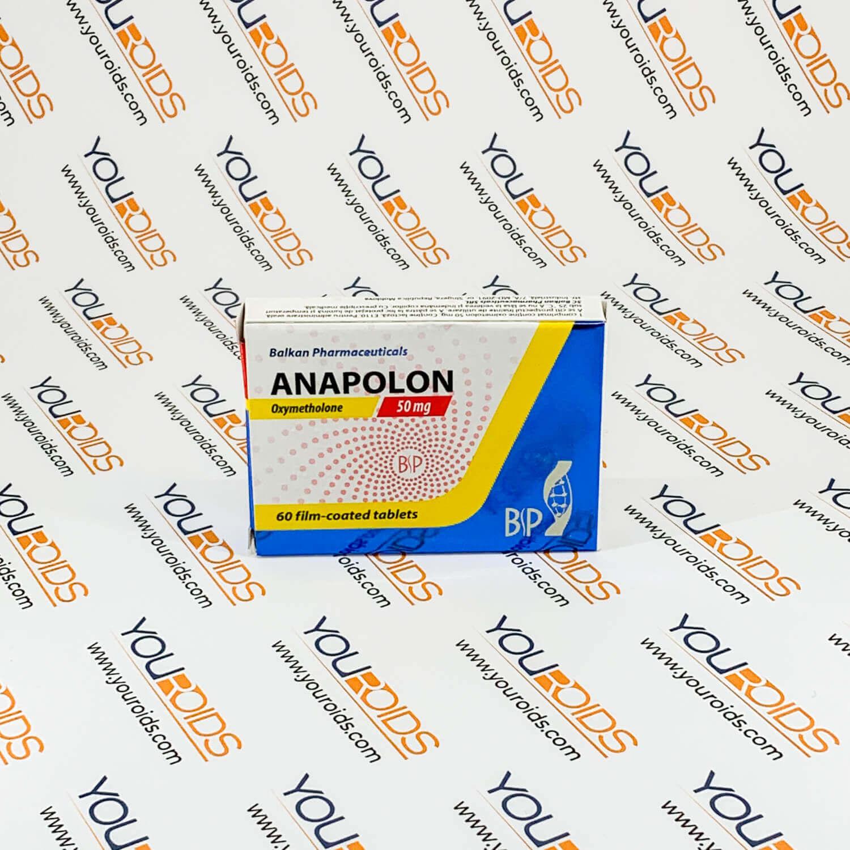 Anapolon 50mg pills Balkan Pharmaceuticals