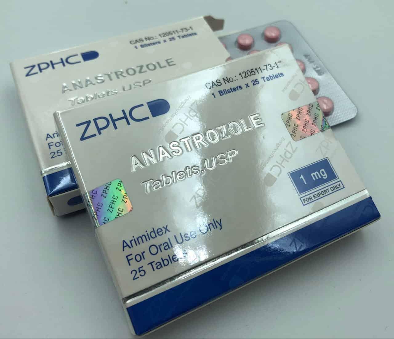 Anastrozole 1mg pills ZPHC USA domestic
