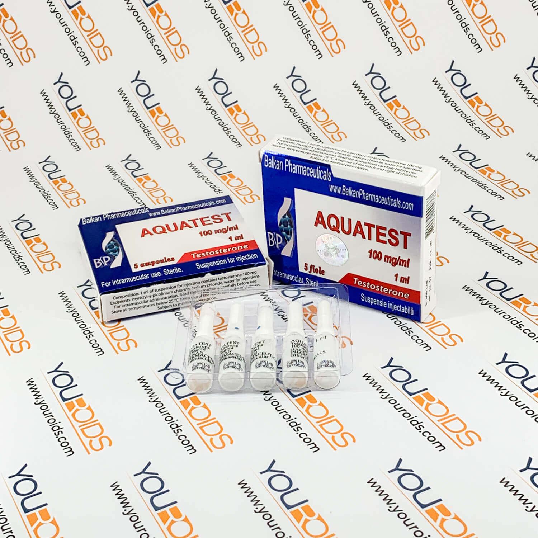 Aqua Testosterone 100mg/ml Balkan Pharmaceuticals 2