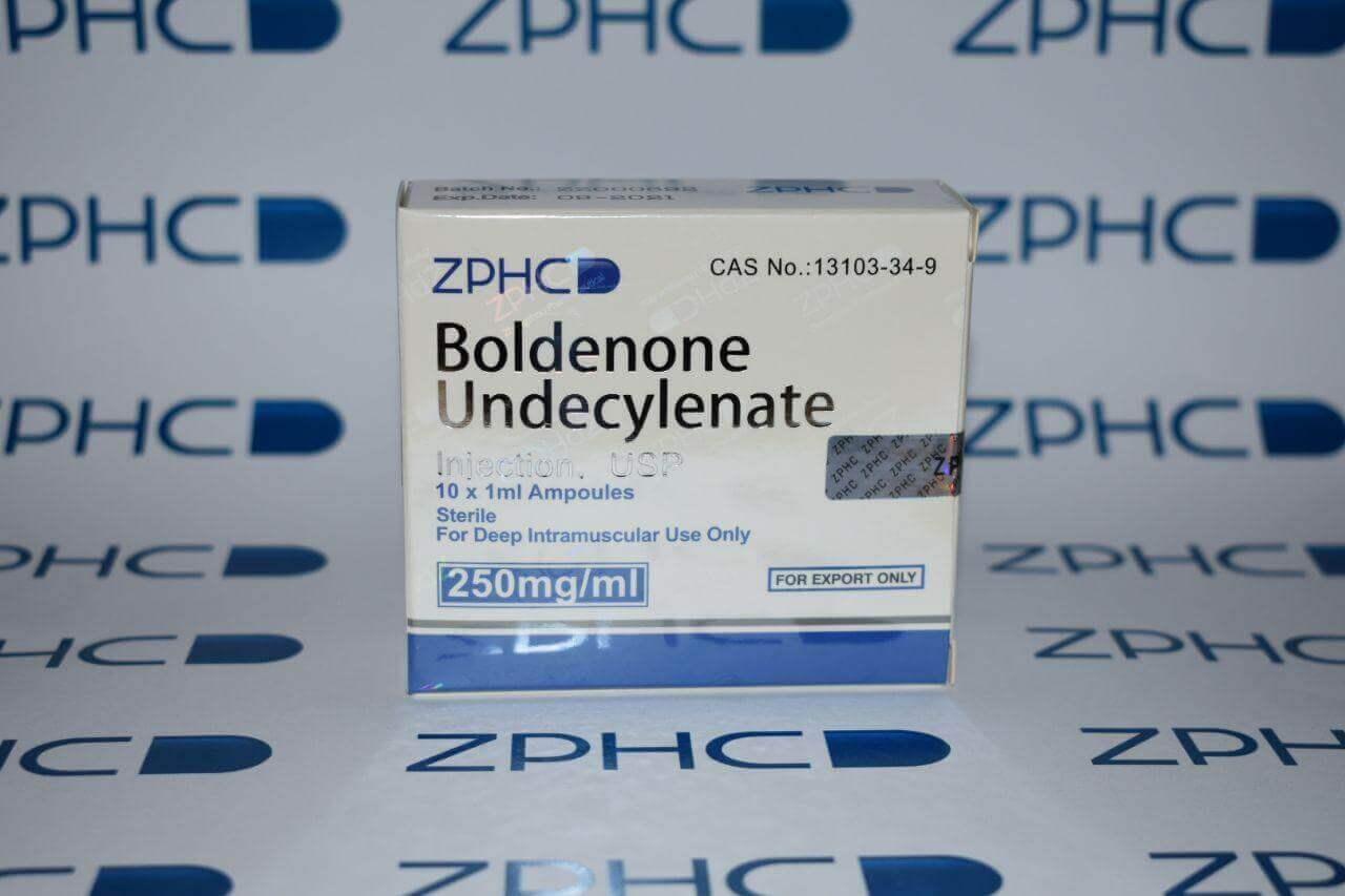 Boldenone Undecylenate 250mg 1ml amps ZPHC