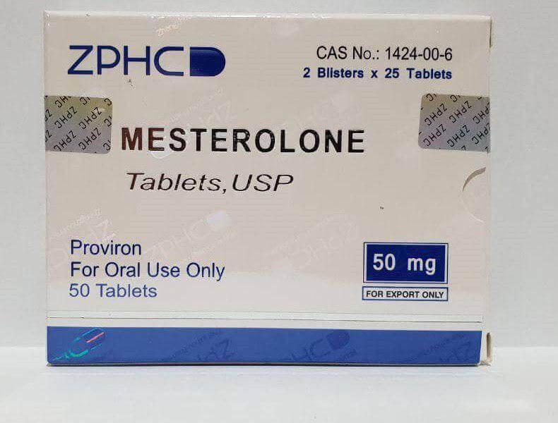 Mesterolone 50mg pills ZPHC USA domestic