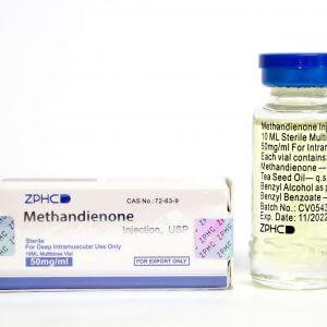 Methandienone 50mg 10ml vial ZPHC