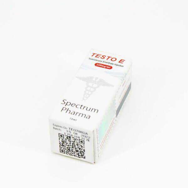 Testo E 250mg vial Spectrum Pharma