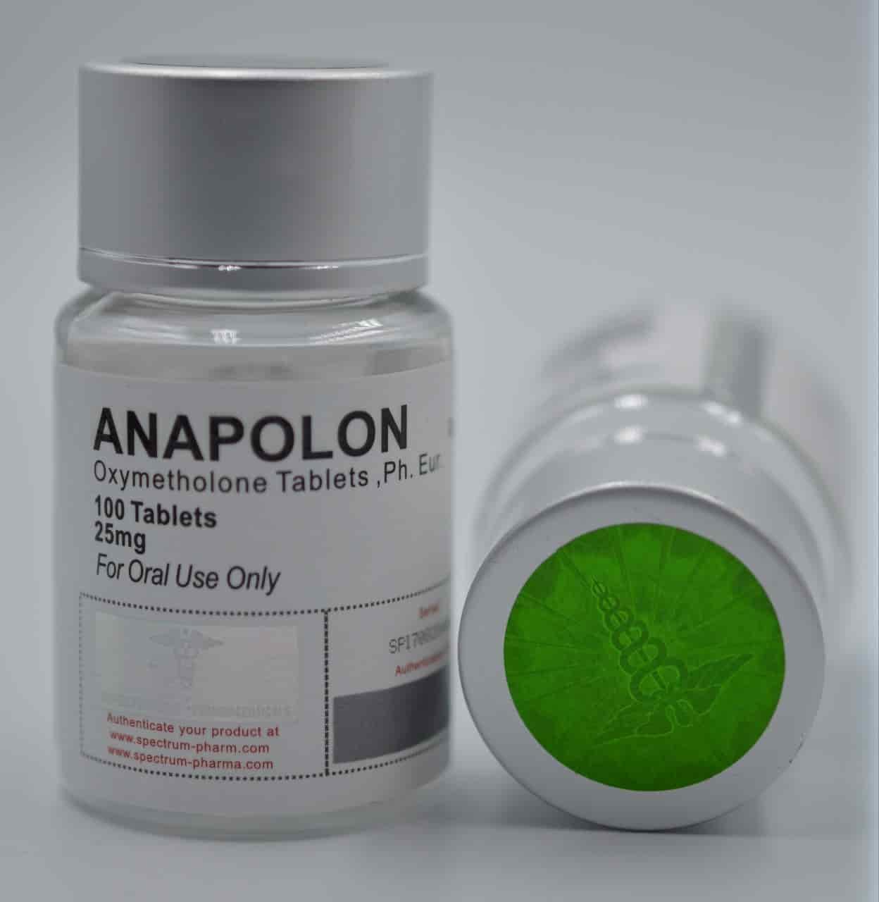 Anapolon 25mg pills Spectrum Pharma USA domestic