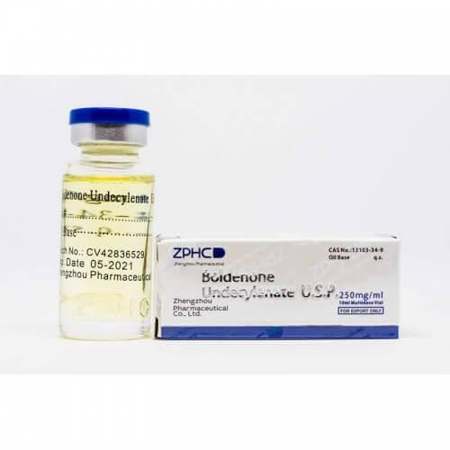 Boldenone Undecylenate 250mg/ml vial ZPHC USA domestic