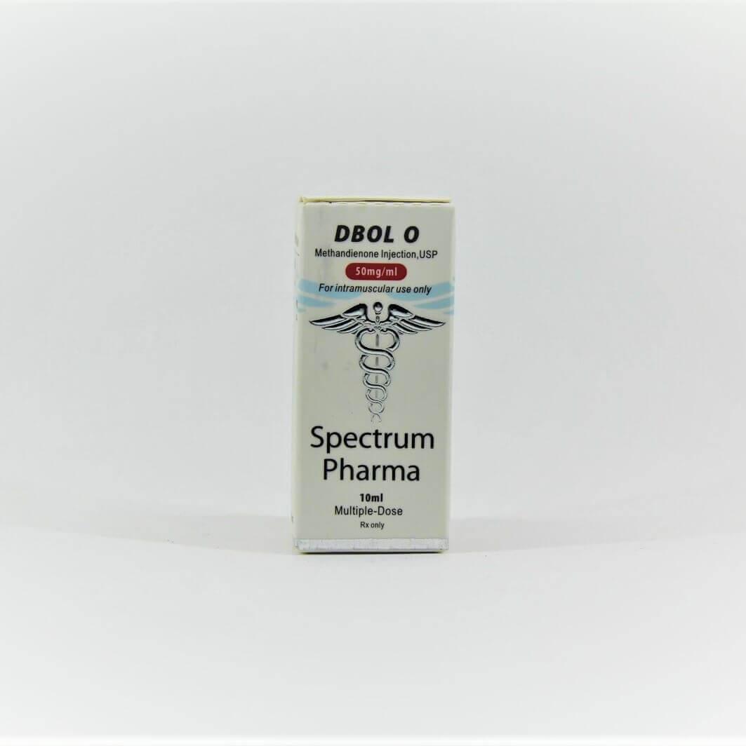 Dbol O 50mg 10ml vial Spectrum Pharma