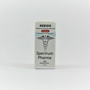 Nebido 250mg 10ml vial Spectrum Pharma