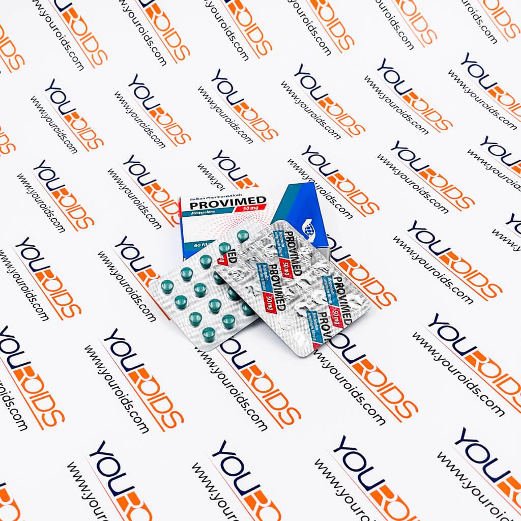 Provimed (Mesterolone) 50mg Balkan Pharmaceuticals-2