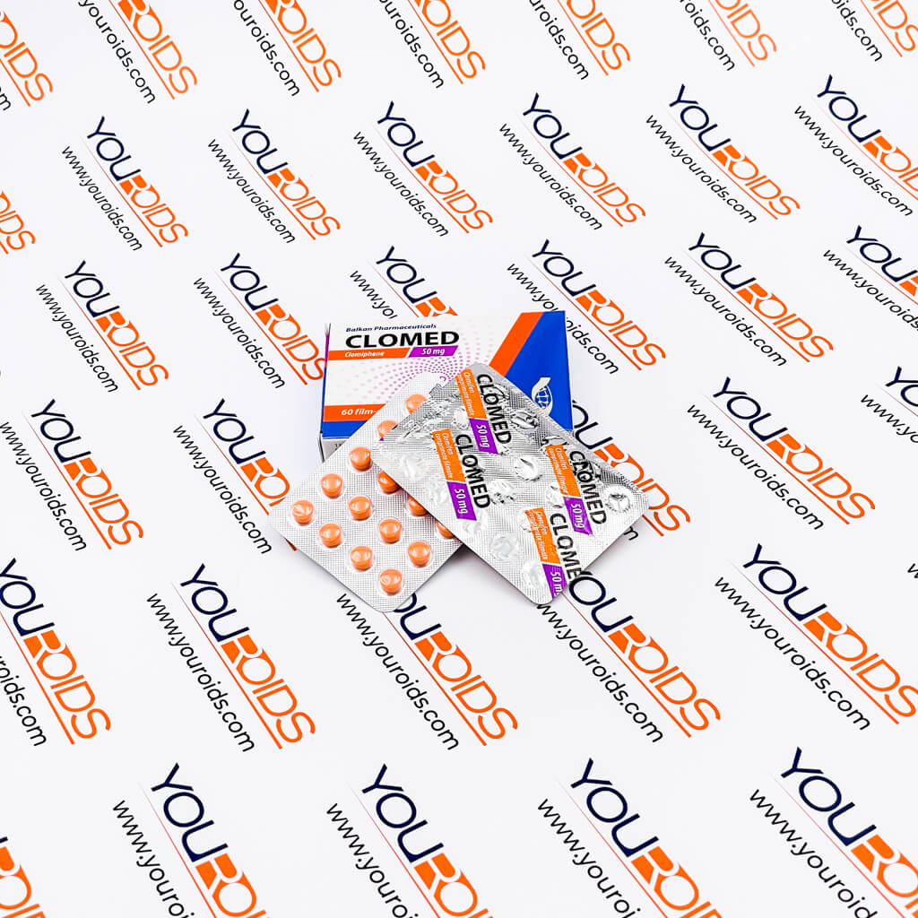 Clomed (Clomiphene) 50mg Balkan Pharmaceuticals-2
