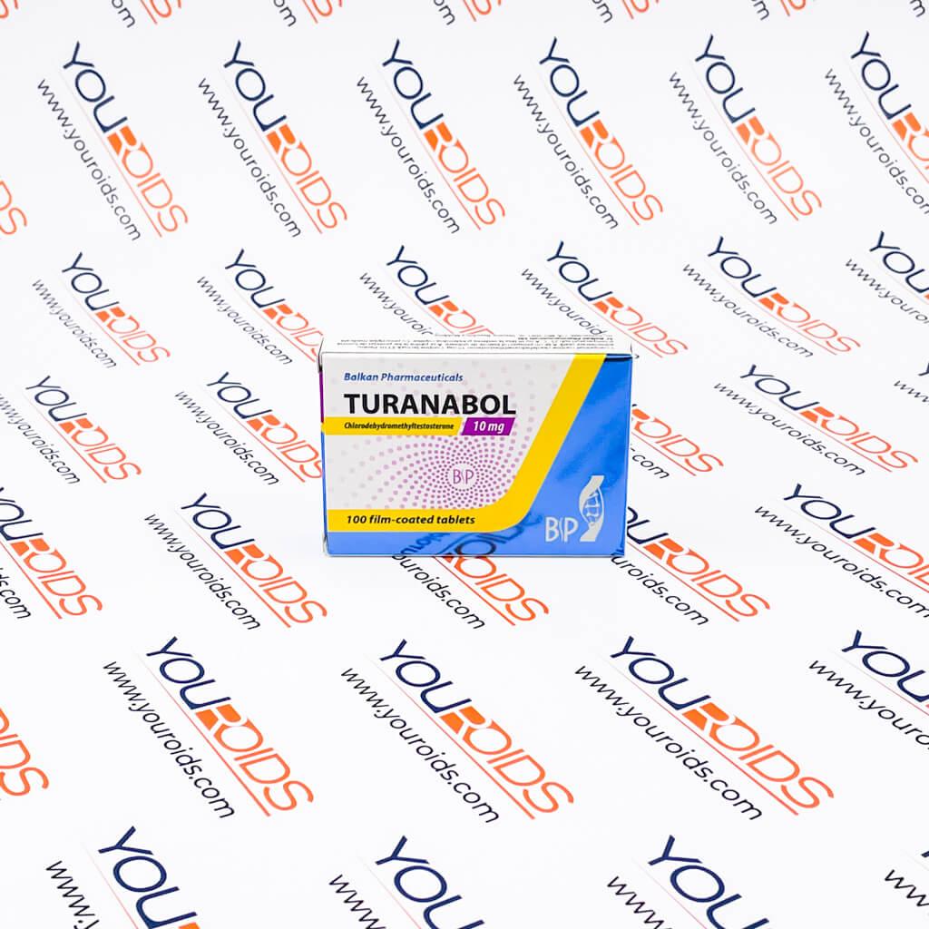 Turanabol (Tbol) 10mg Balkan Pharmaceuticals-1