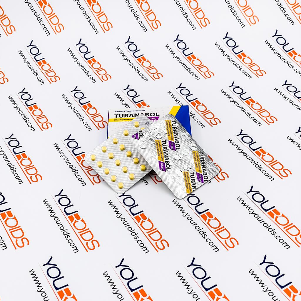 Turanabol (Tbol) 10mg Balkan Pharmaceuticals-2