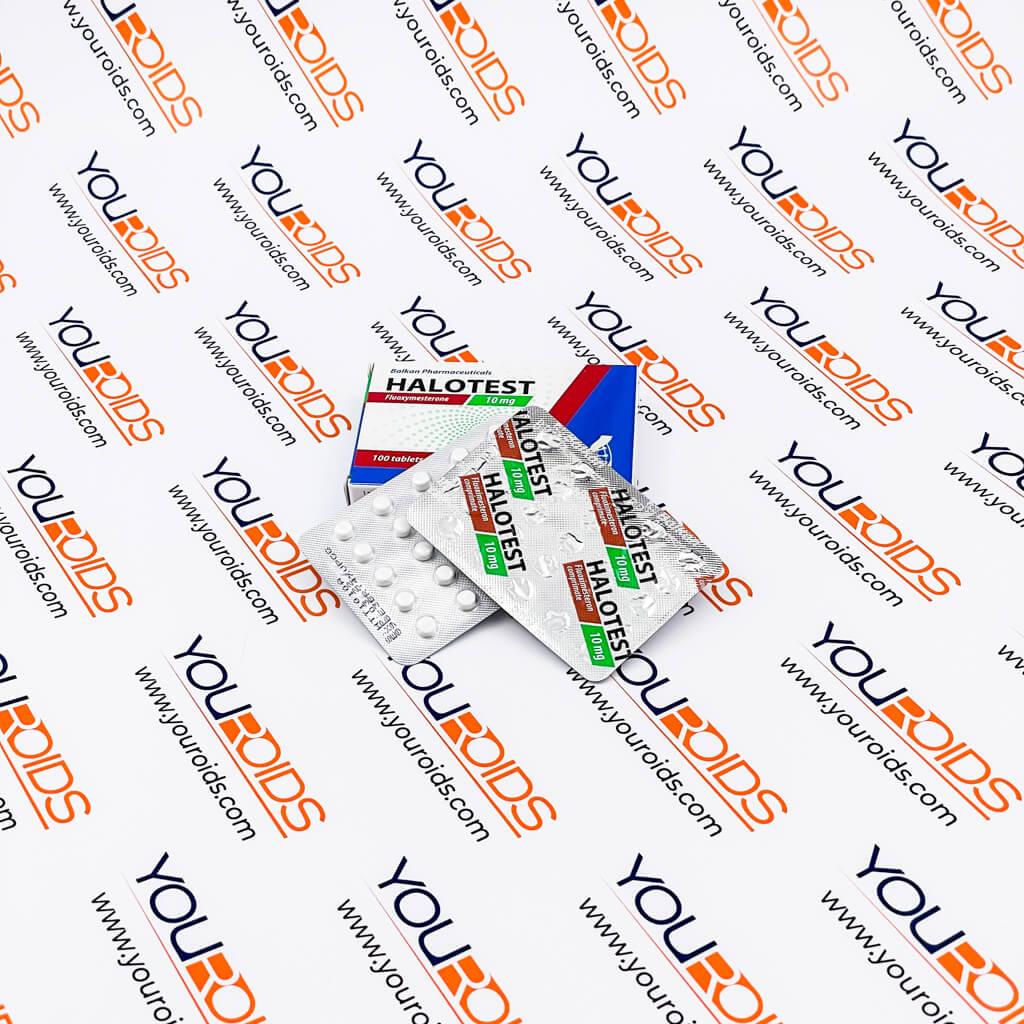 Halotest (Halotestin) 10mg Balkan Pharmaceuticals-2